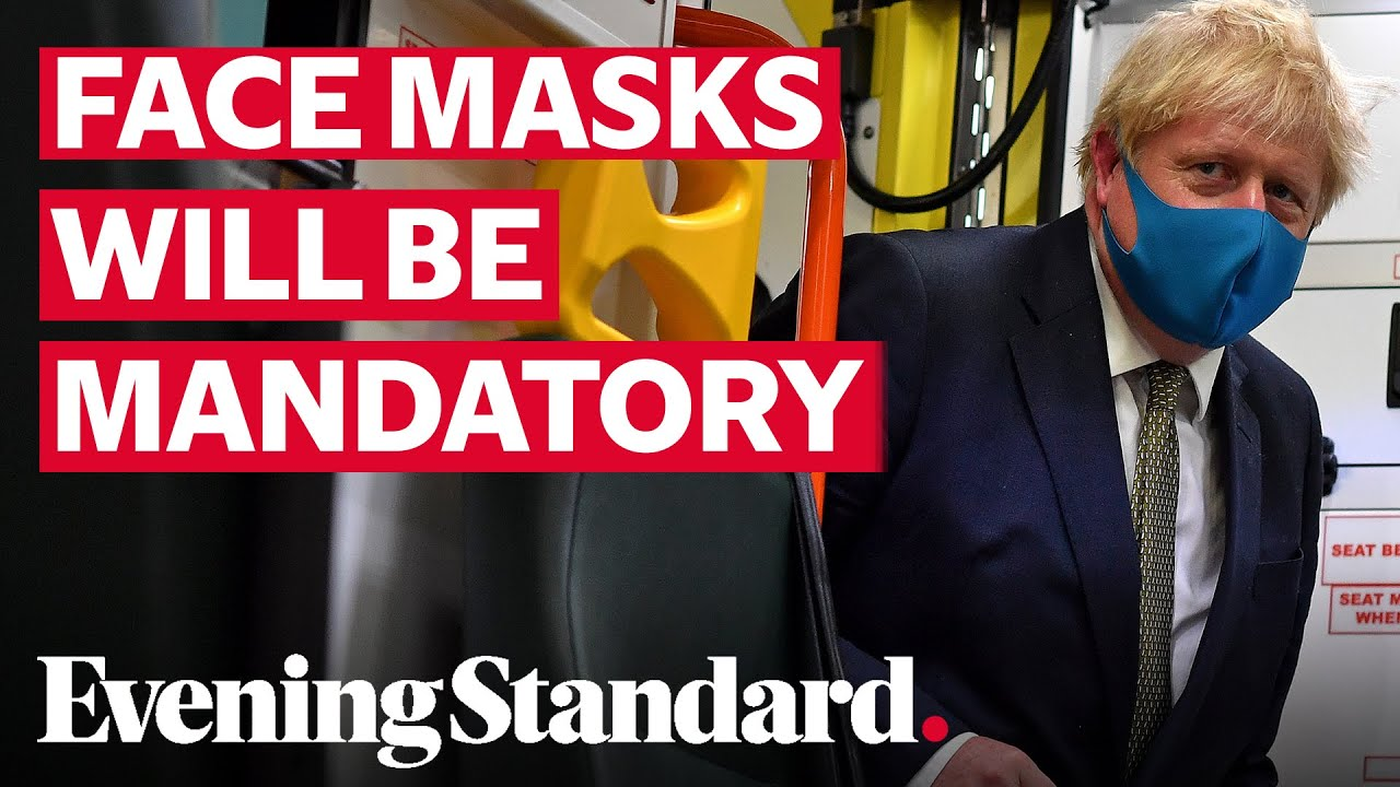 Coronavirus UK: Government announce face masks will be mandatory in shops from July 24
