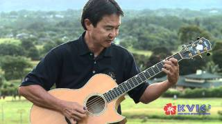 Paul Togioka - My Yellow Ginger Lei / Kuuipo Onaona - KVIC-TV3 [Music]