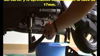 Cambio de aceite y filtro moto tmax 530 o tmax 500