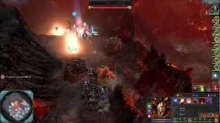 Warhammer 40k - dawn of war 2 - retribution - Chaos - part 50 (chaos ending)
