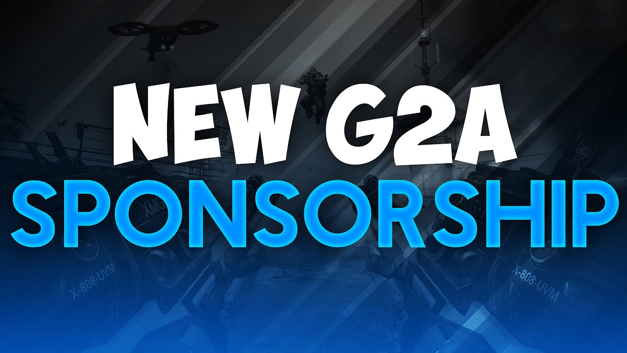 how to get sponsored by g2a