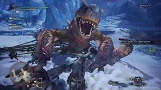 Monster Hunter World Iceborne - Tigrex Boss Fight  Gameplay Demo (E3 2019)