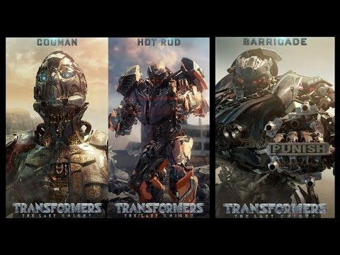 Transformers: The Last Knight - CGI Roster Motion Posters