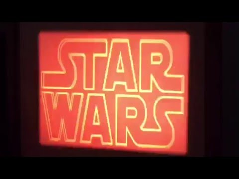 Star Wars Episode 4 Rare Edition with Voice Over in Super 8mm
