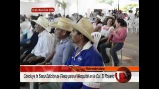 6to. Festival para el Mezquital en el Rosario, Francisco I. Madero