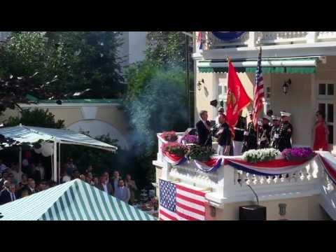 Marcus Loewe - The Star Spangled Banner | 2016 4th of July celebrations US Embassy Kyiv, Ukraine