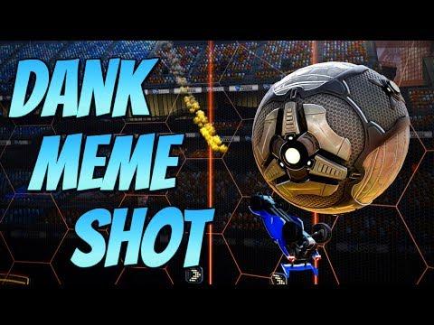 DANK MEME SHOT   Goal of the Day #11 ( Rocket League Best Goals / Highlights )