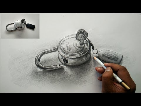 How To Draw Basic OBJECT Drawing and Shading With Pencil | Live Pencil Art