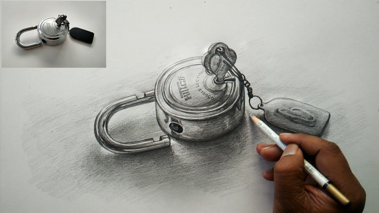 How To Draw Basic OBJECT Drawing and Shading With Pencil ...