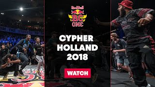 Red Bull BC One Cypher Holland 2018 LIVE