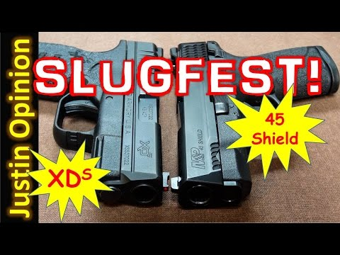 NEW 45 Shield vs. Springfield XDS .45