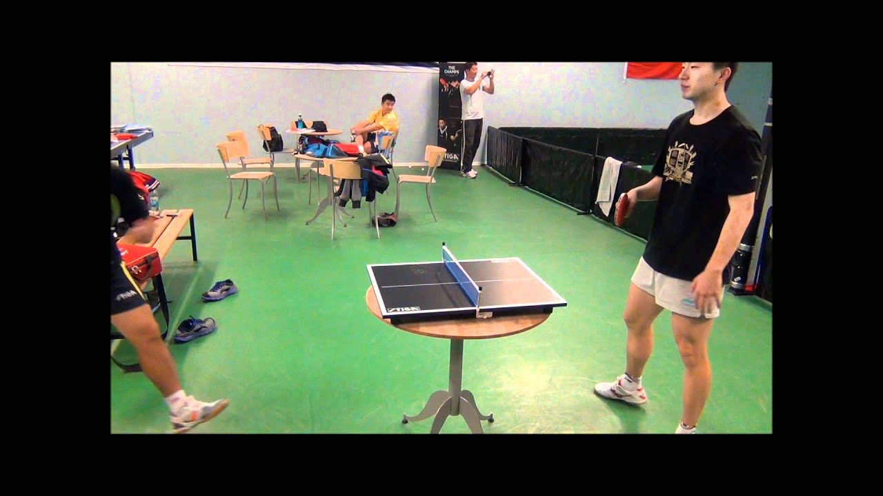 Merveilleux Ma Long In Mini Table Tennis!   YouTube