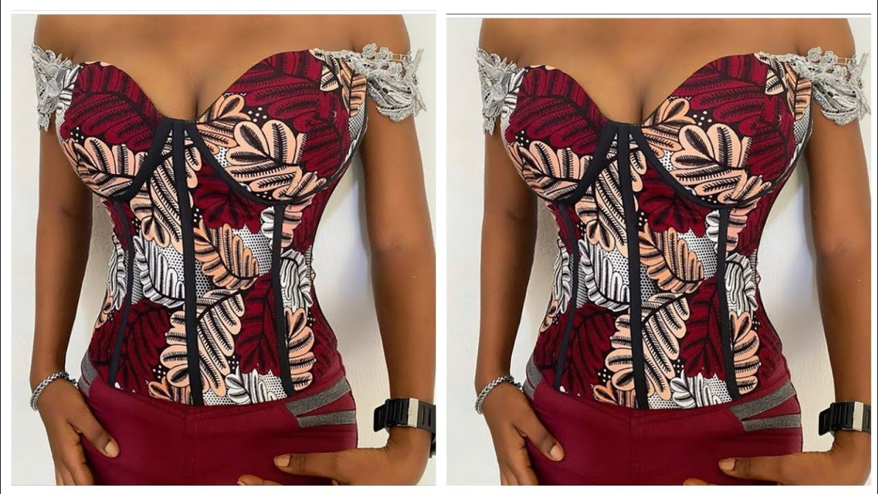 Download CORSET BLOUSE WITH CUPS    Corset 101    Drafting   Cutting    Stitching