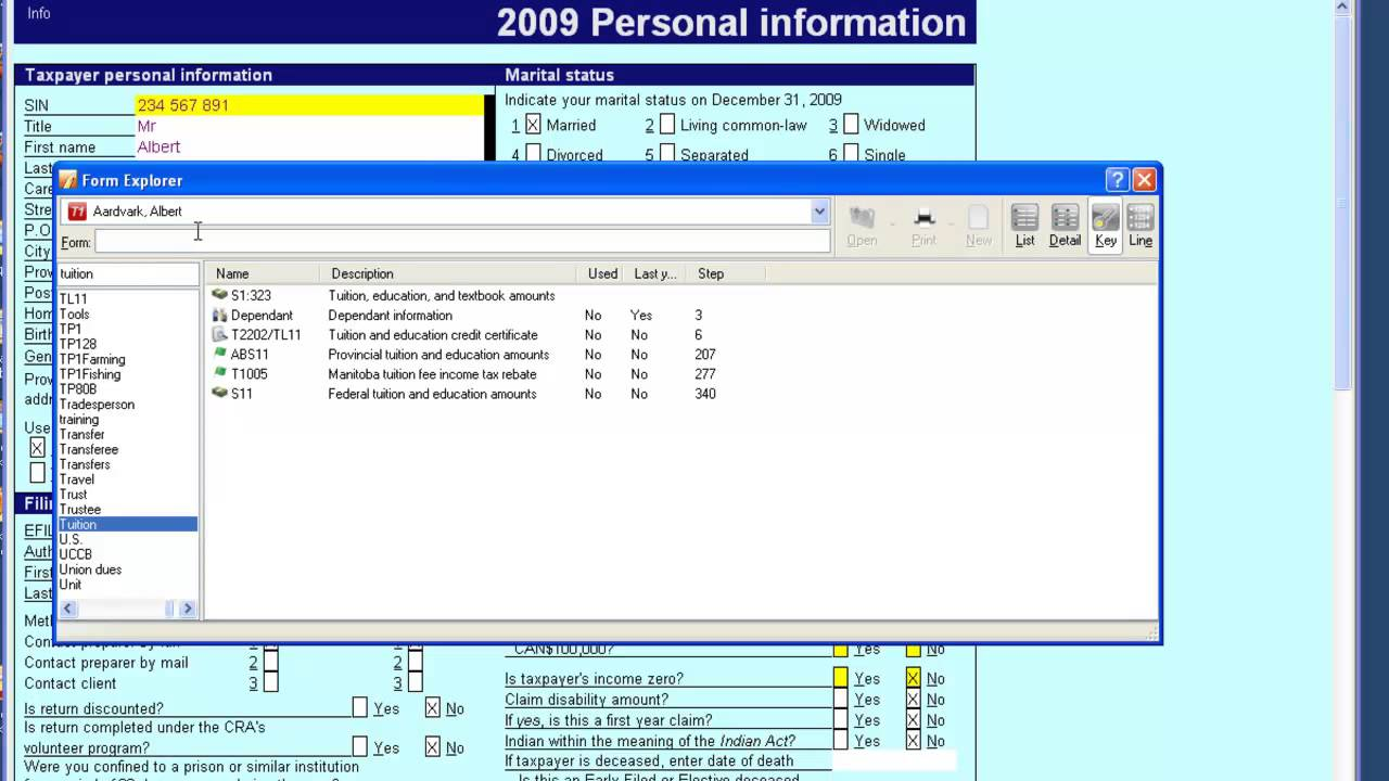 how to navigate using form explorer in profile professional tax how to navigate using form explorer in profile professional tax software