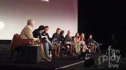 Deadwood The Movie. Emmy's Cast & Crew Panel. Ian McShane Tim Olyphant Kim Dickens John Hawkes