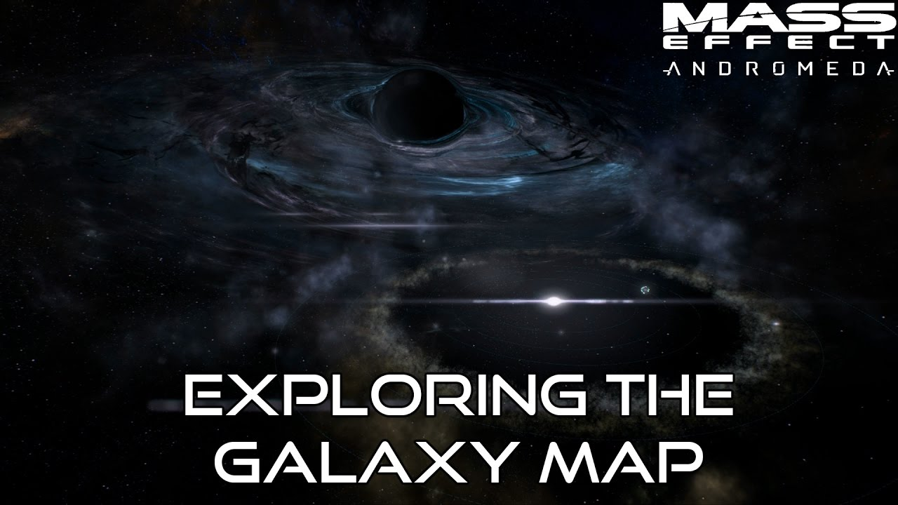 Mass Effect Andromeda Star Map.Mass Effect Andromeda Exploring The Galaxy Map Youtube