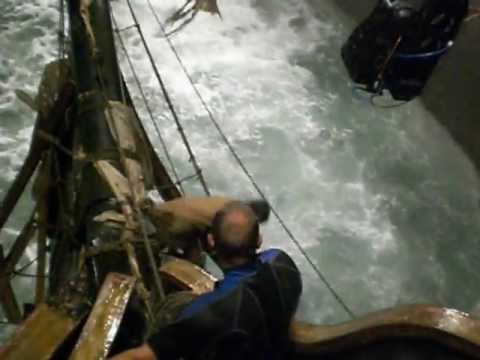 FRANÇOIS GOESKE shooting »TREASURE ISLAND«: Stormy Night in Thailand