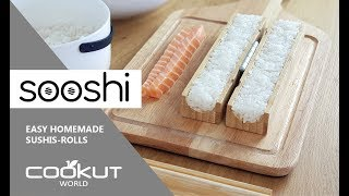 Download Sooshi by Cookut - utensils to make sushi rolls easily