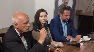 Dyskusja na Targówku - Janusz Korwin-Mikke w Warszawie 15.10.2018