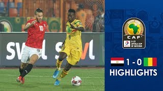 HIGHLIGHTS   #TotalAFCONU23   Round 1 - Group A: Egypt 1-0 Mali