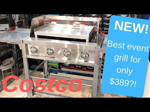 Louisiana Grills Event Grill & Griddle - ONLY $389!! from Costco!