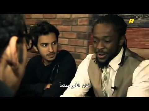 Kofi Kingston visit Mamma Roti in tahlia Street ( Riyadh )