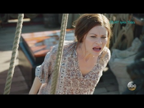 """Once Upon A Time 6x04 Belle and Jekyll Fight  """"Strange Case"""" Season 6 Episode 4 HD"""