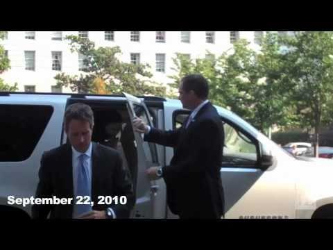 AMBUSHED: Tim Geithner