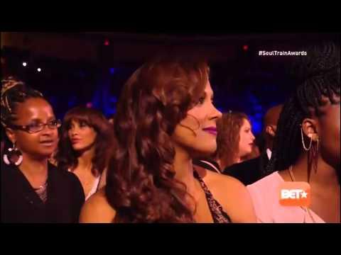 Chris Brown Performin Medley At Soul Train Awards 2014