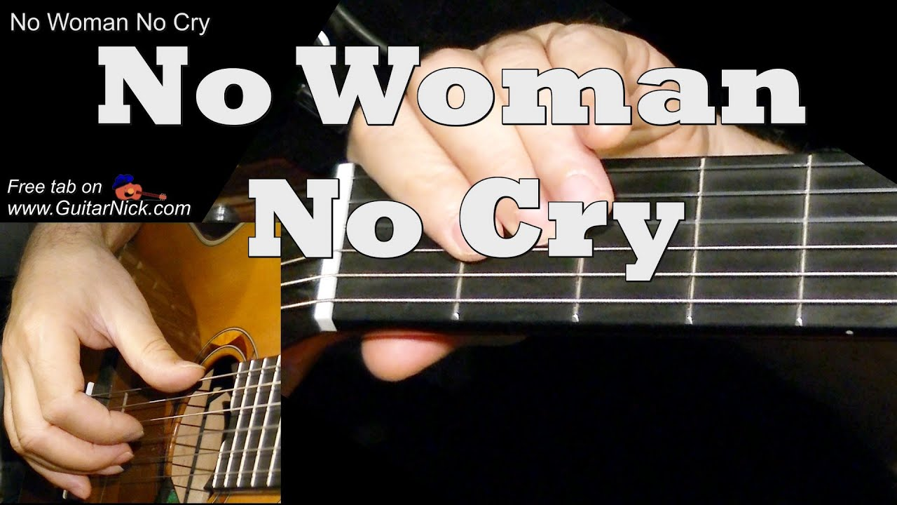 No Woman No Cry Easy Guitar Lesson Tab Chords By Guitarnick