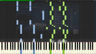 DYATHON - Hope [Piano Tutorial] (Synthesia)