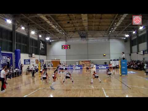 Barbara Cembrzyńska OUTSIDE HITTER Polish League (A2) 2017-2018 nr 7 white shirt