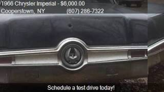 1966 Chrysler Imperial BLACK BEAUTY for sale in Cooperstown,
