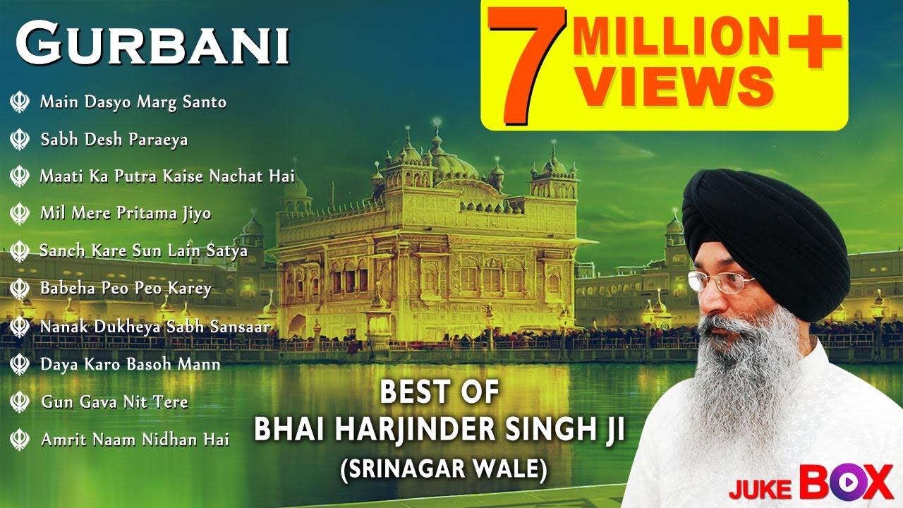 Download Non Stop Best Shabad Gurbani by Bhai Harjinder Singh Ji (Sri Nagar Wale) | Gurbani Kirtan | Jukebox