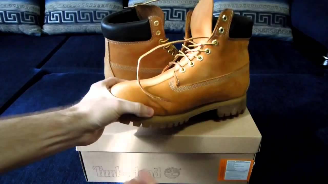 Ботинки Timberland тест на кожу - YouTube