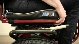 AddSeat 5:0 verse 5:1 - Selfbalancing vehicle - Wheelchair