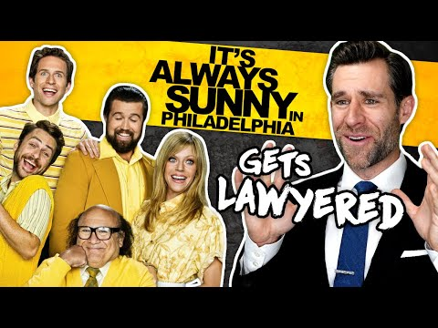 Real Lawyer Reacts to It's Always Sunny in Philadelphia - Mc