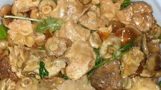 Рецепт засолки грибов горячим способом