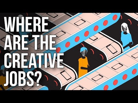 Where Are the Creative Jobs?