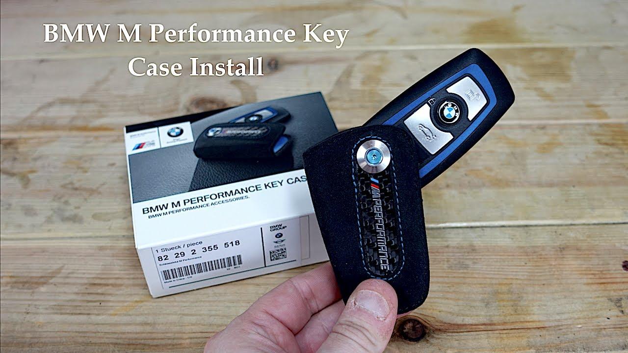 BMW F Series Genuine Alcantara M Performance Key Case / Holder Install