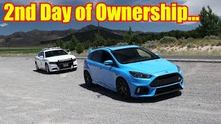 Download Police Not Happy - Top Speed Test in the Ford Focus RS Mp3 and Videos