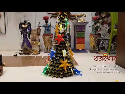 Metal Gift and Decorational Items Christmas Tree Rajasthan Crafts and Villa