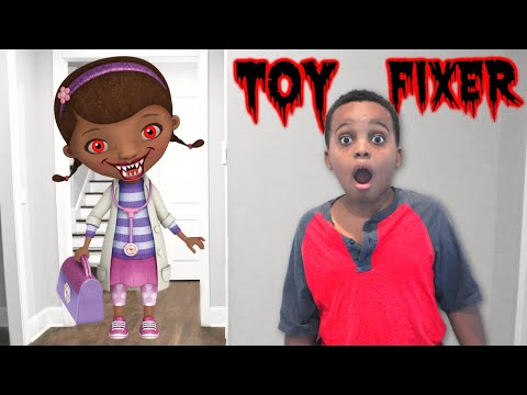 Thumbnail: DOC MCSTUFFINS TWISTED ANKLE CHECK UP Bad Kids Shasha and Shiloh- Onyx Kids