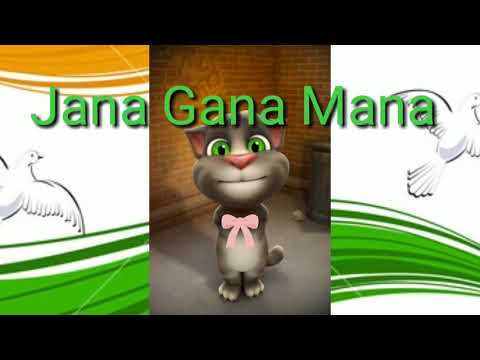 Jana Gana Mana Full Song  | 15 August, National Anthem | Talking Tom Song Video