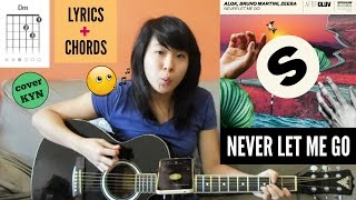 Baixar Alok, Bruno Martini, Zeeba - Never Let Me Go (acoustic cover KYN) + Lyrics + Chords