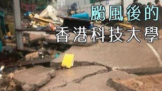 還好嗎? 颱風山竹過後的香港科技大學...