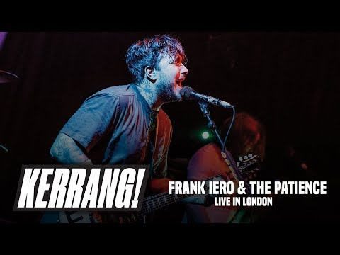 Frank Iero & The Patience, Live In London