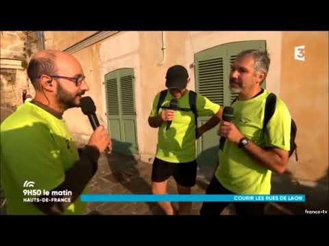 9H50 LE MATIN - FRANCE 3 - 18/10/2017 - SPÉCIAL FOOTING SYMPA