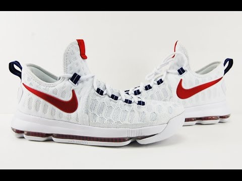 Nike KD 9 USA Review, On Feet + My Thoughts