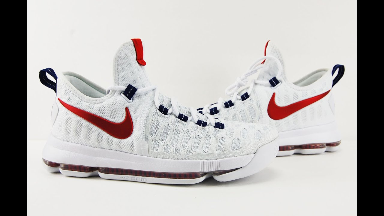 d87de111690b ... sale nike kd 9 usa review on feet my thoughts youtube 9d567 0b640
